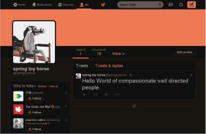 capture image of twitter page